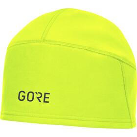 GORE WEAR Windstopper Muts met klep, neon yellow